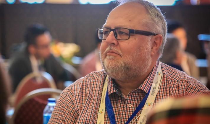 Rev. Larry Kochendorfer from Canada is one of 48 council members appointed by the Twelfth LWF Assembly. Photo: LWF/JC Valeriano