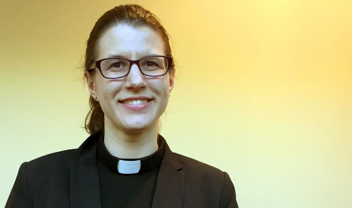 "Thirty-two year old ELCA pastor convinces with her sermon ""The Jesus Parade"""