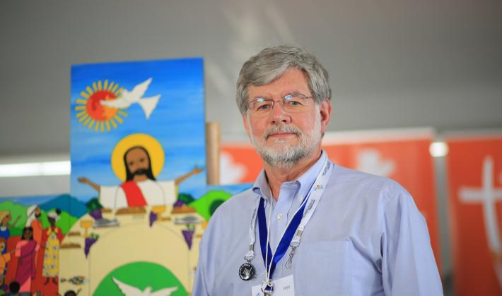 Rev. Dr Stephen Larson, pastor from the Evangelical Lutheran Church in Canada and chair of the International Worship Planning Committee for the Twelfth LWF Assembly. Photo: LWF/S. Gallay