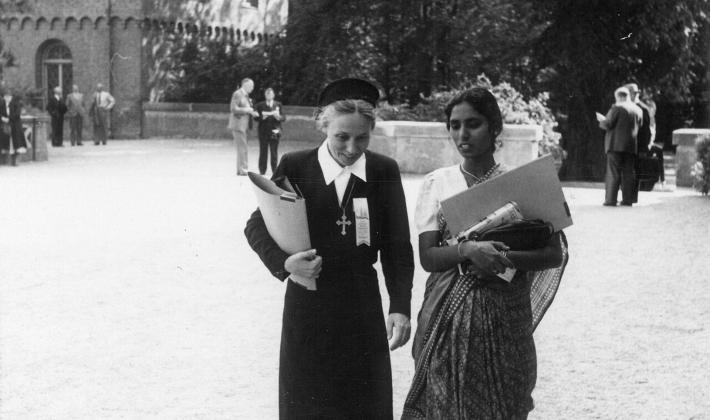 The LWF First Assembly took place in Lund, Sweden in 1947. Photo: LWF Archives