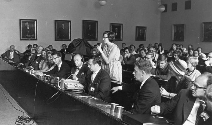 The LWF Fourth Assembly took place in Helsinki, Finland in 1963. Photo: LWF Archives