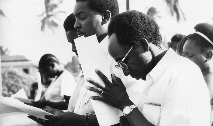 The LWF Sixth Assembly took place in Dar es Salaam, Tanzania in 1977. Photo: LWF Archives