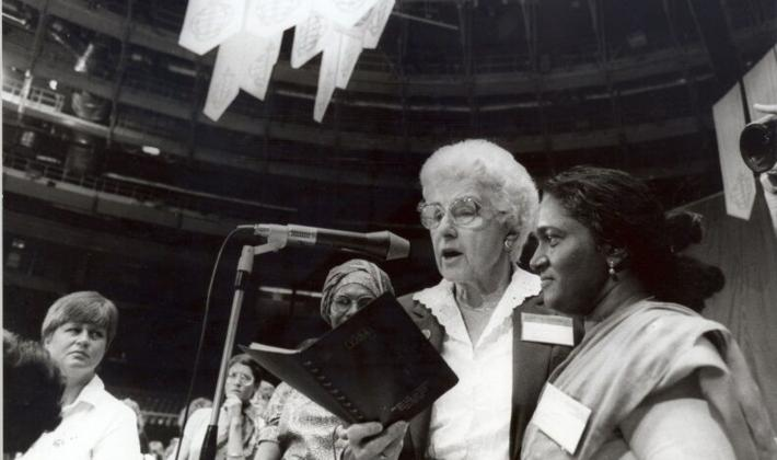 The LWF Seventh Assembly took place in Budapest, Hungary in 1984. Photo: LWF Archives